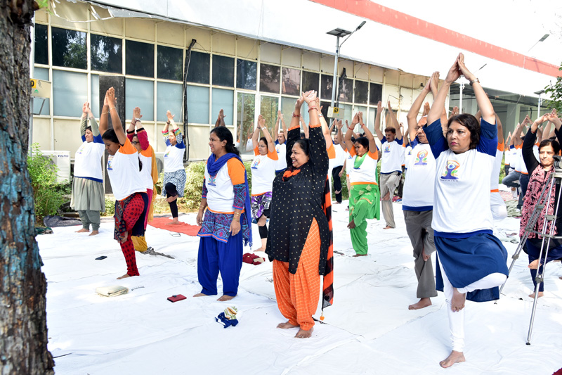 Yoga on Technology Bhawan Campus - Department Of Science & Technology - 웹