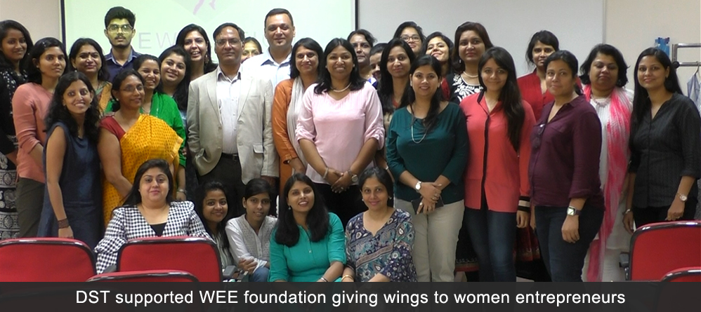 DST  supported WEE foundation giving wings to women entrepreneurs