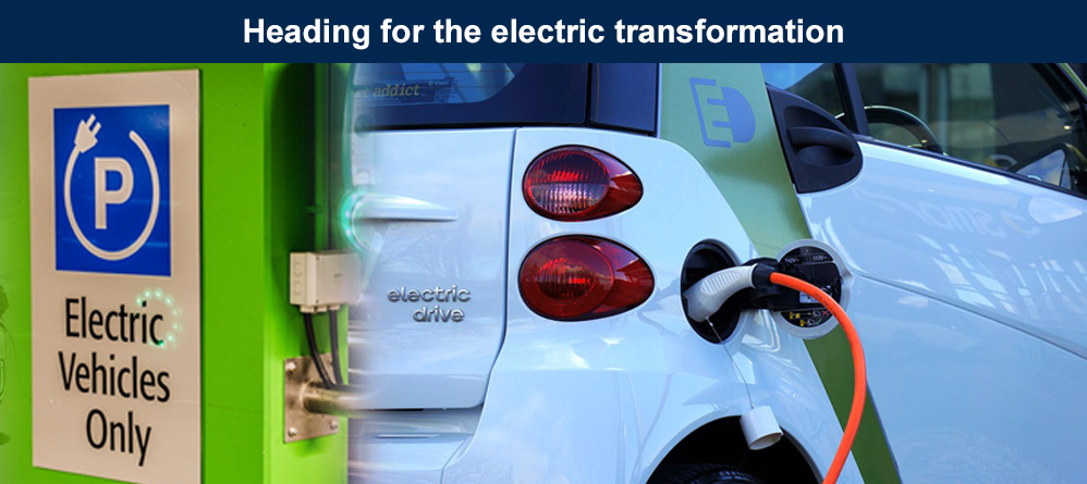 Heading for the electric transformation