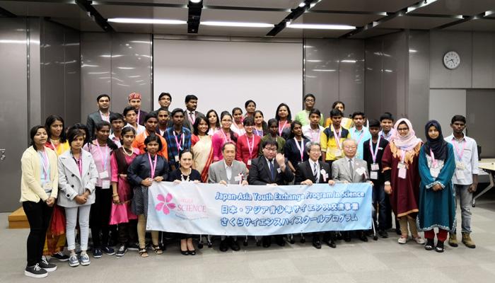 INSPIRE Awards MANAK National Awardees participated in SAKURA Science High School Program during May 20-26, 2018.