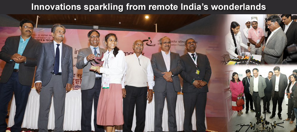 Innovations sparkling from remote India wonderlands