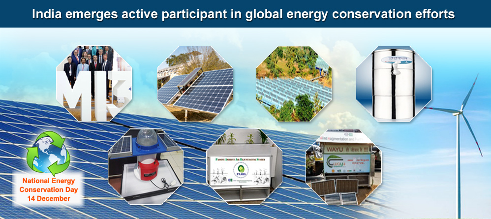 India emerges an active participant in global energy conservation efforts