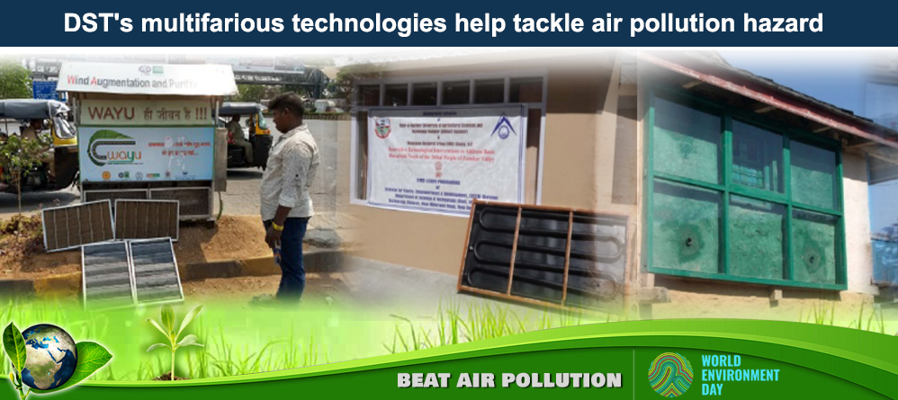 DST's initiatives tackle air pollution hazard