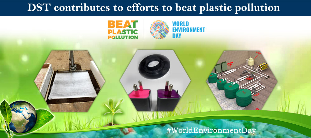 DST contributes to efforts to beat plastic pollution