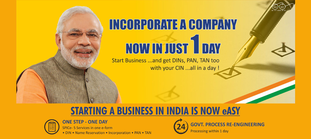 Ease of Doing Business - Starting a Business in India