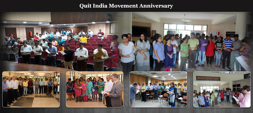 Quit India Movement Anniversary