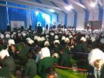 550 school students dressed up as Albert Einstein at IISF 2016
