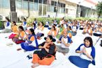 Yoga on Technology Bhawan Campus