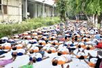 Yoga on Technology Bhawan Campus