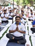 International Day of Yoga 2019 - Technology Bhawan