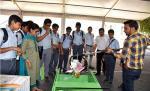 Demonstration of Spade Picker and Swachhta Cart before  Students of Chinmaya Vidyalaya, New Delhi