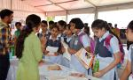 Students of Chinmaya Vidhyalaya, New Delhi in Exhibition Pavilion during  Swacchta Pakhwada organised by DST