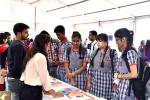 Students of Kendriya Vidhyalaya, R.K. Puram, New Delhi in Exhibition Pevilion