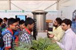 Students of Kendriya Vidhyalaya, R.K. Puram, New Delhi being explained about Model of Passive Ambient Air Purifier System