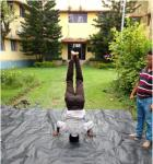 International Yoga Day was celebrated at Bose Institute