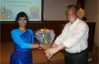 International Yoga Day at CeNS Bengaluru