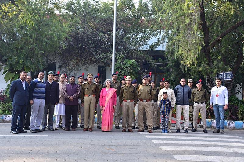 Republic Day Celebration 2020 - Technology Bhawan