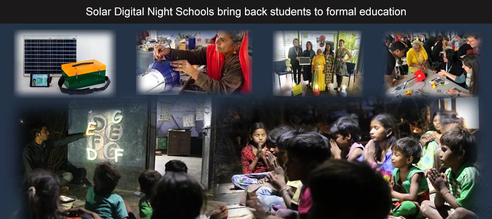 Solar Digital Night Schools bring back students to formal education